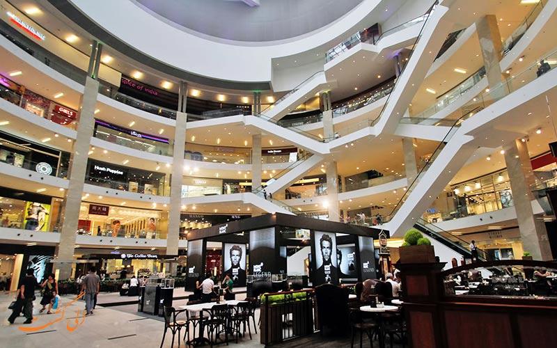 بخش های مختلف مرکز خرید پاویلیون کوالالامپور