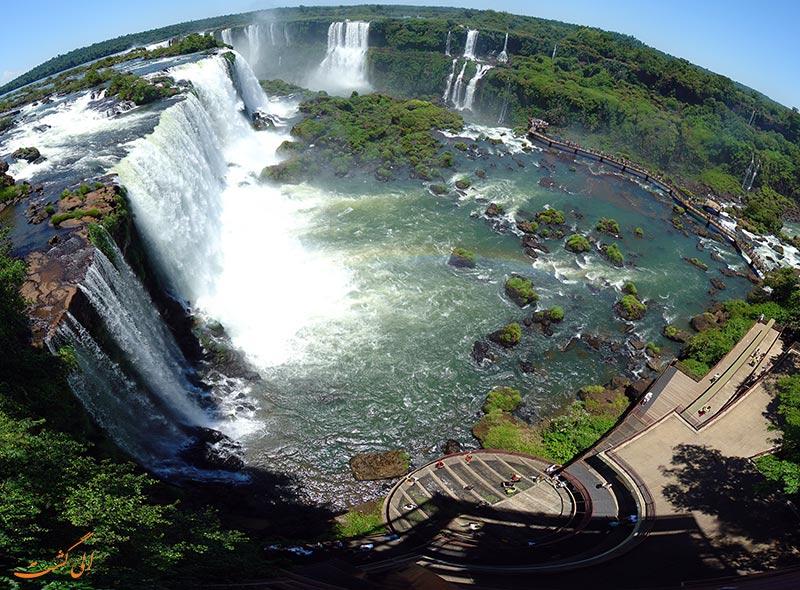 آبشار ایگواسو در برزیل