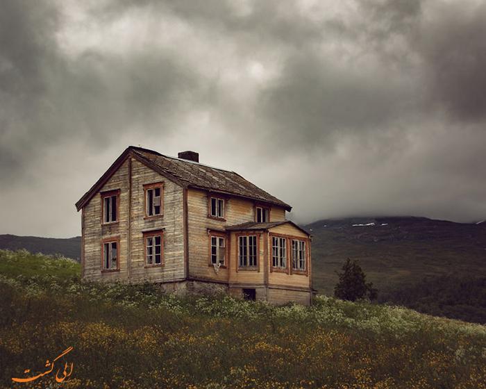 خانه متروک اسکاندیناوی