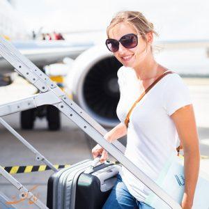 لباس مناسب پروازهای طولانی