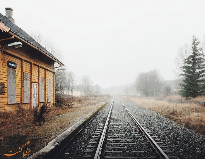 عکس خانه های متروک اسکاندیناوی