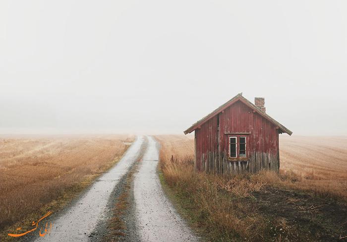 خانه های متروک منطقه اسکاندیناوی