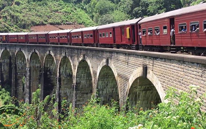 پل سنگی سریلانکا