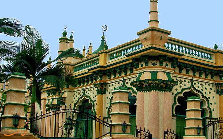 نمای مسجد عبدالغفور در سنگاپور