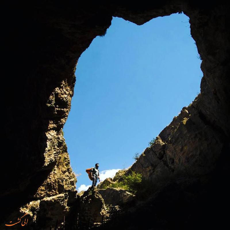 عکس غار بورنیک