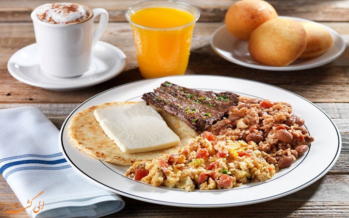 صبحانه کلمبیا