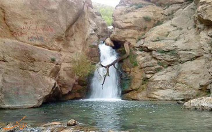 آبشار سراب صحنه