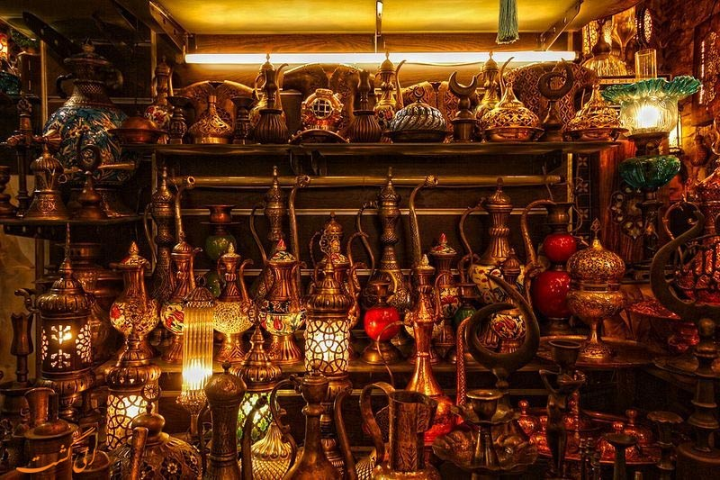 کالاهای بازار بزرگ استانبول