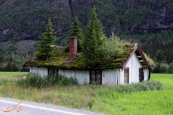 خانه های چمنی در نروژ