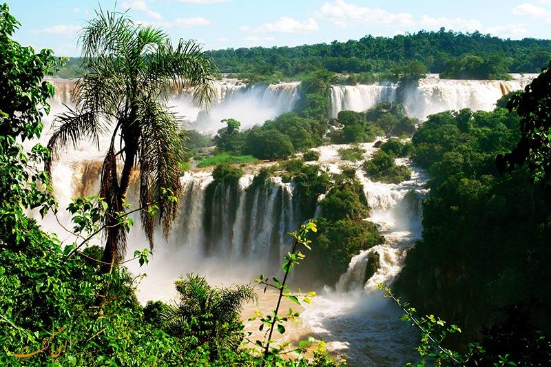 آبشارهای ایگواسو برزیل-بزرگترین کشورهای جهان