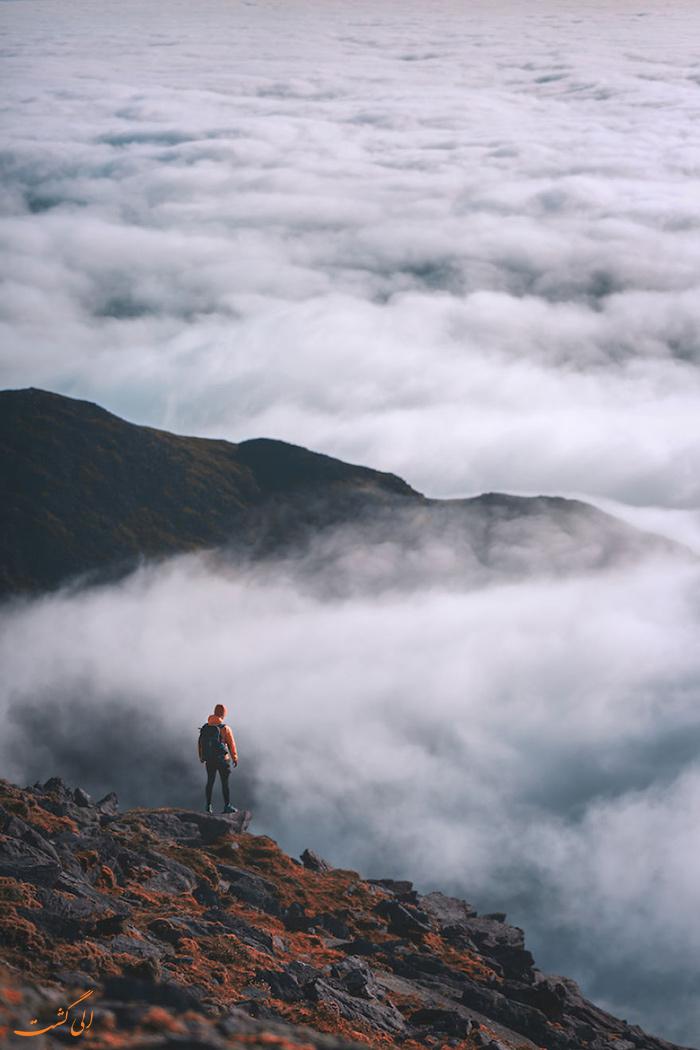 بر فراز ابرها در ایرلند