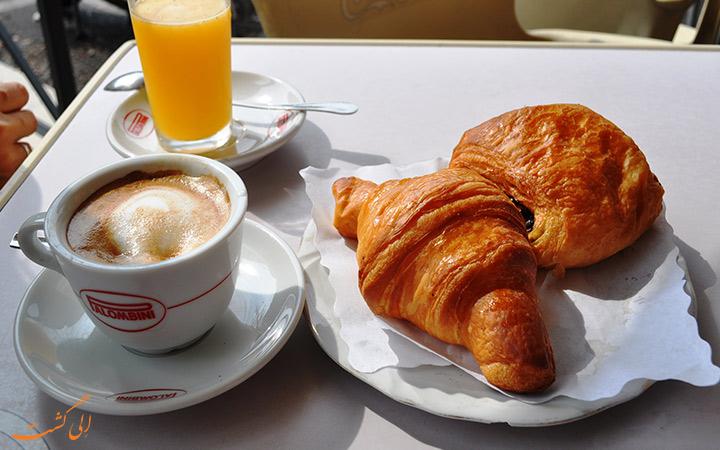 صبحانه ایتالیایی