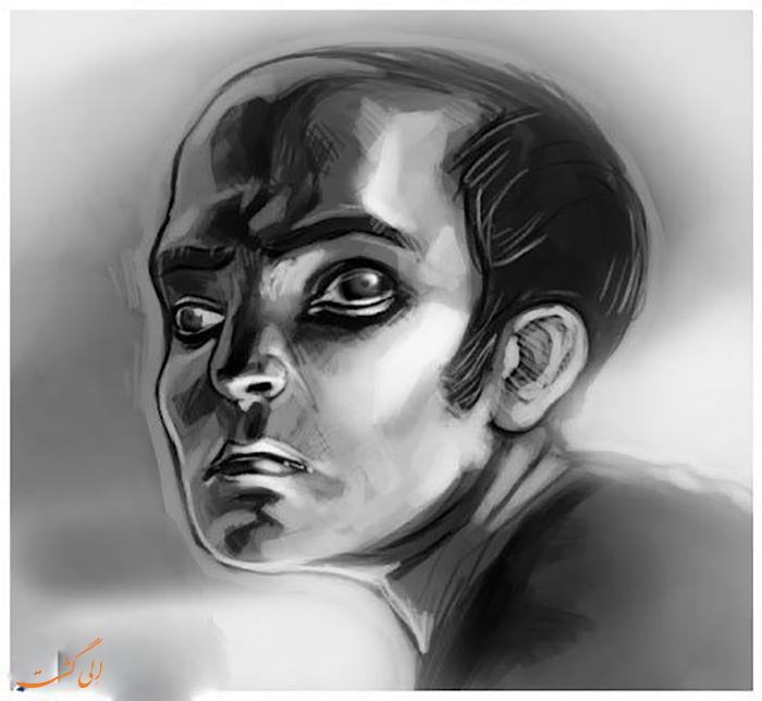 تصویر مرد در خواب عجیب