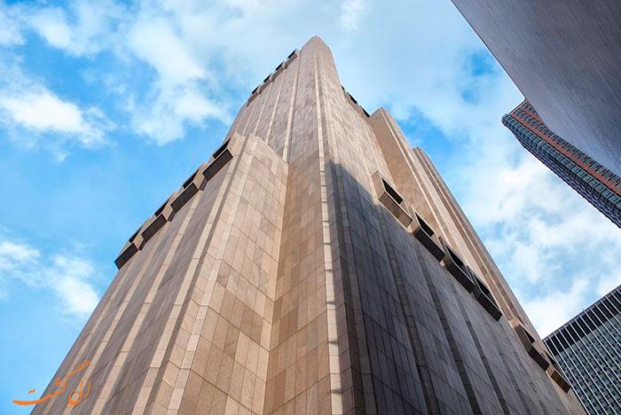 عکس آسمانخراش بدون پنجره نیویورک