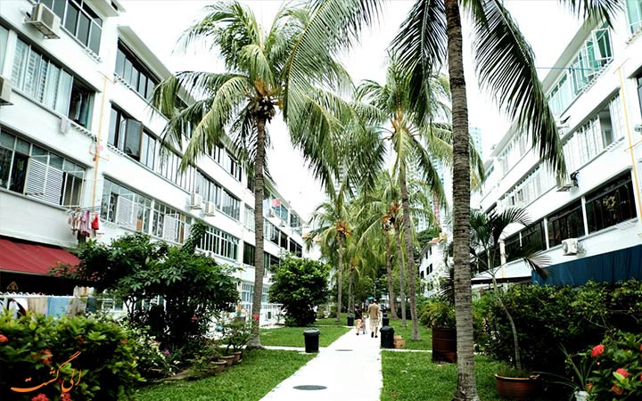 محله تیونگ بارو در سنگاپور