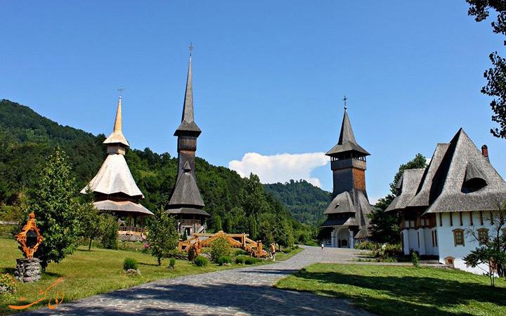 کلیساهای زیبای چوبی در رومانی