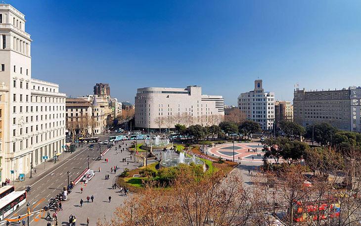شلوغ ترین میدان بارسلونا