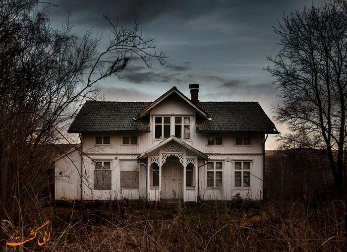 خانه ای متروک در سوئد