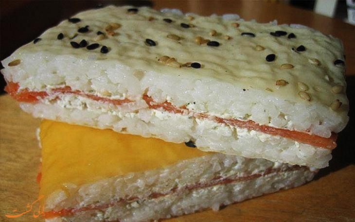 ساندویچ برنج
