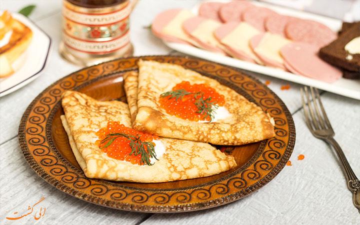 صبحانه روسی