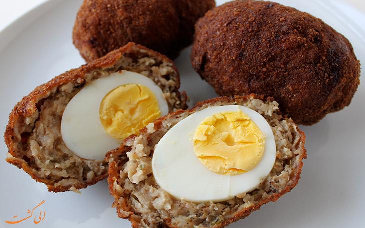 تخم مرغ اسکوچ