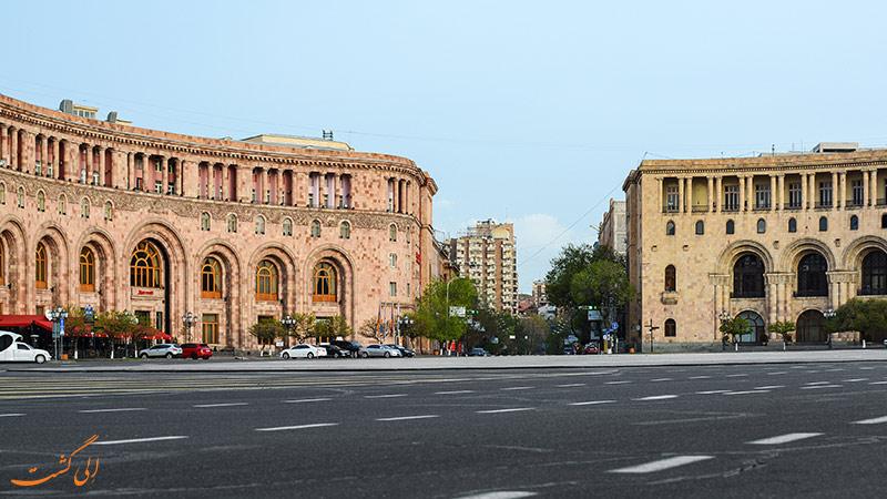 هزینه هتل ارمنستان