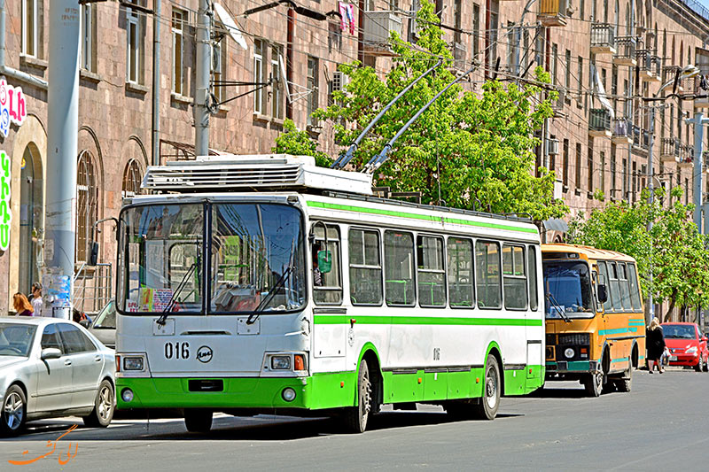 هزینه حمل و نقل ارمنستان