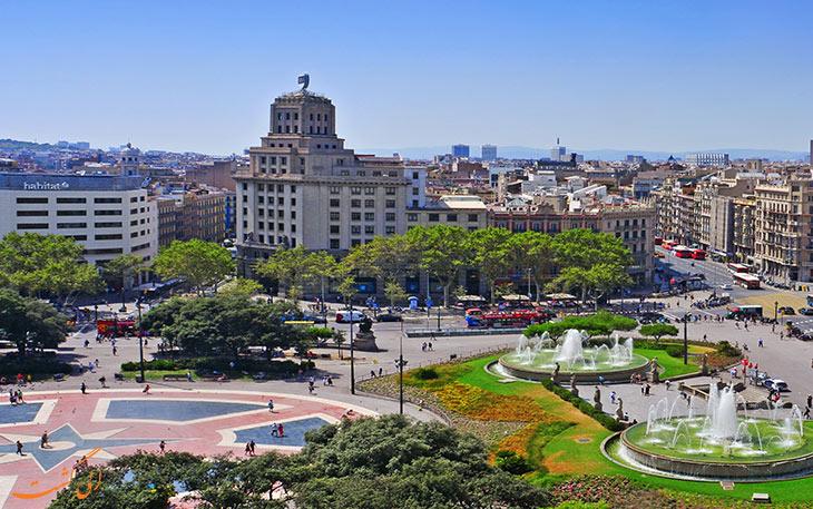 میدان کاتالونیا در بارسلونا