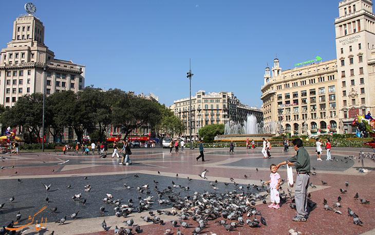 میدان معروف بارسلونا