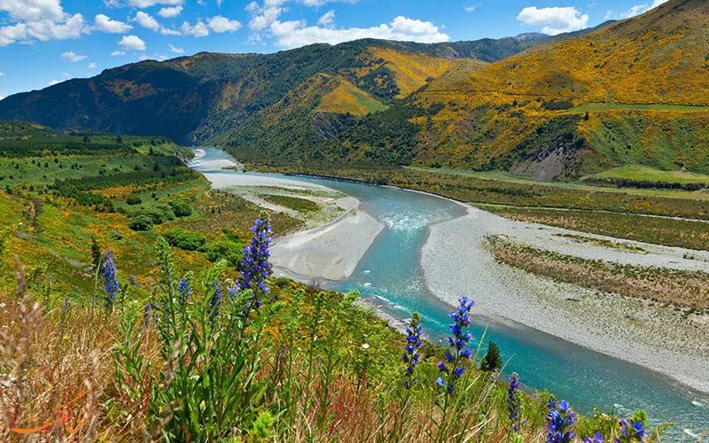 استخرها ی نیوزلند