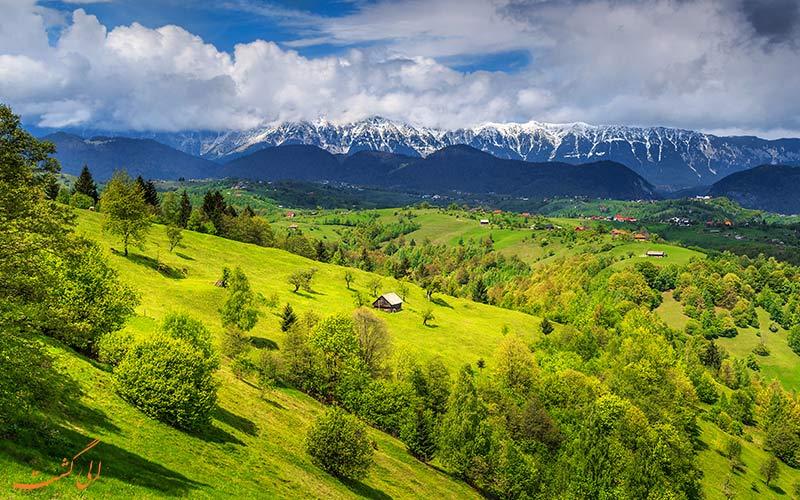 رومانی سرسبز و زیبا