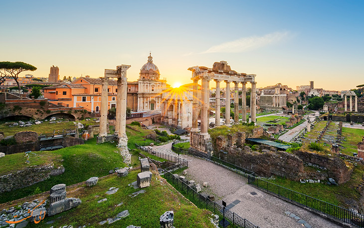 شهر رم در ایتالیا