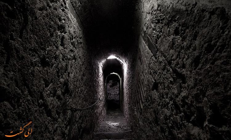 راهروهای قلعه برن رومانی