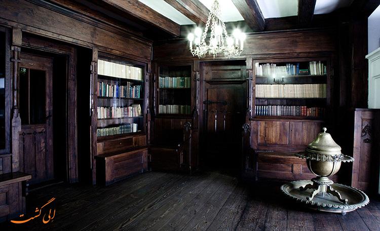 کتابخانه قلعه برن رومانی