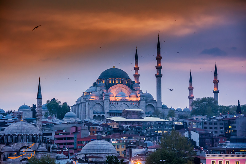 مسجد سلیمانیه-هتل گرند هیلاریوم استانبول