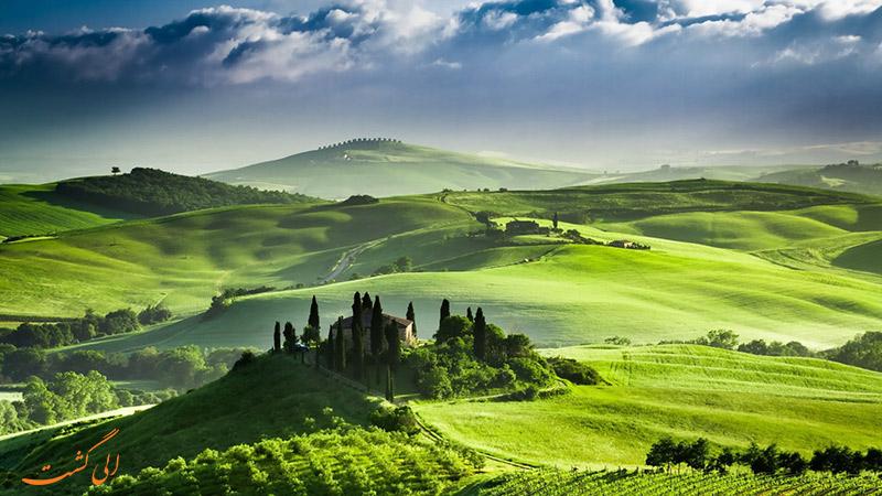 منطقه توسکانی ایتالیا