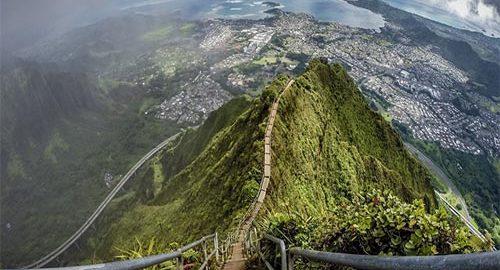 پله های هایکو در هاوایی