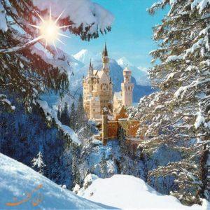 شهرهای اروپا در زمستان