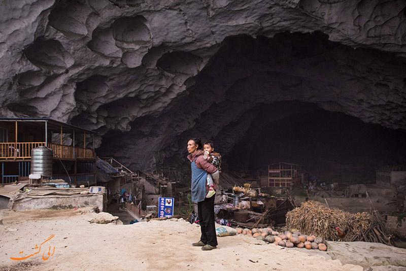 روستای ژونگ دونگ چین