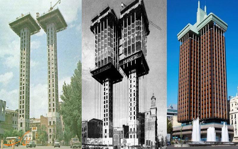 مراحل ساخت ساختمان مادرید
