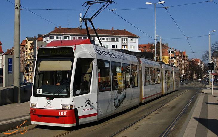 هزینه حمل و نقل در نورنبرگ