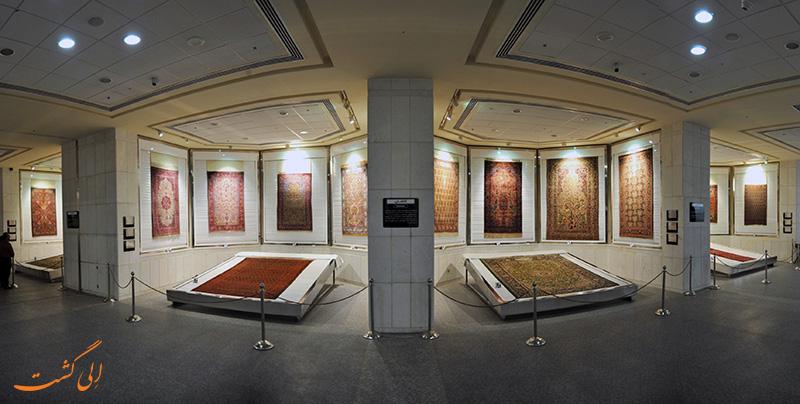 قالی های موزه فرش ایران