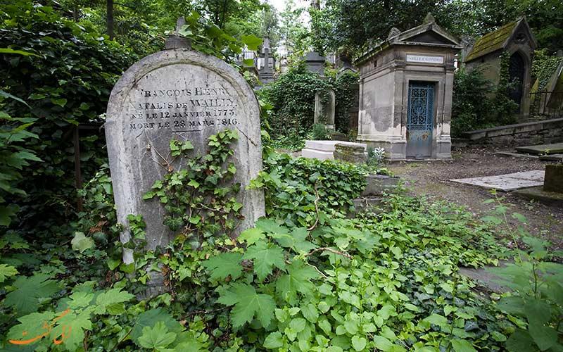 قبرهای قبرستان پرلاشز