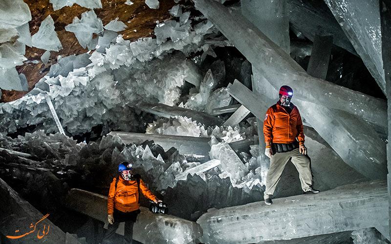 غار کریستال ها