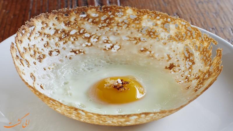 تخم مرغ قیفی