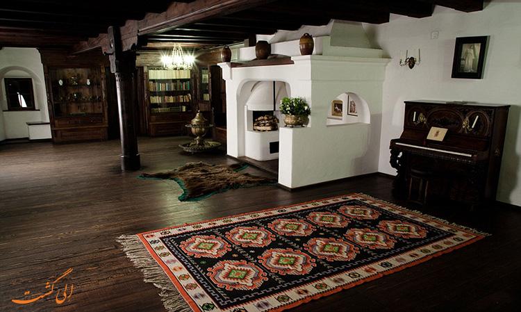 فضای داخلی قلعه برن رومانی