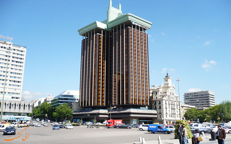 ساختمان شهر مادرید