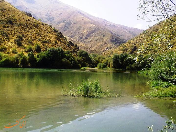 دریاچه مارمیشو ارومیه در ارومیه