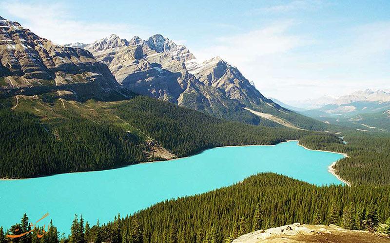 طبیعت زیبای پارک های ملی کانادا