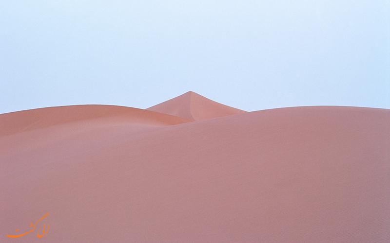 تغییر رنگ جالب بیابان های مراکش